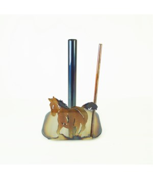 HORSE AND COLT Paper Towel Holder